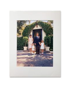 Kennedy Family Easter Sunday Matted Print