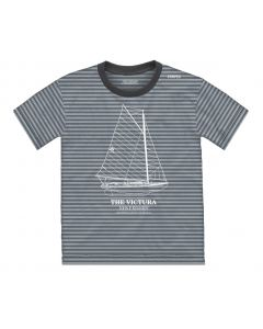 Youth Striped ''Victura'' Tee