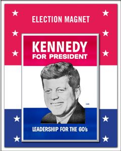 JFK for President Magnet