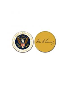 JFK Presidential Seal Coin