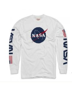 Adult NASA Maverick Long Sleeve T-Shirt