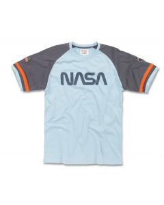 Adult NASA Worm Logo T-Shirt
