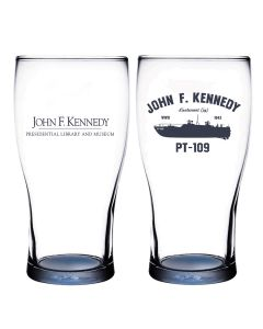 JFK PT-109 Pint Glass