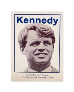 Robert Kennedy Campaign Poster Notecard