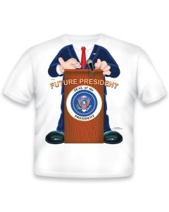 Boy Toddler ''Future President'' Tee
