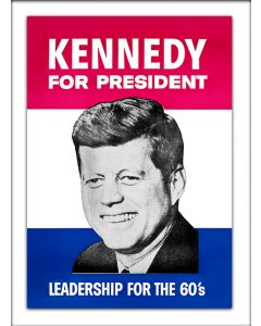 JFK for President Vinyl Sticker