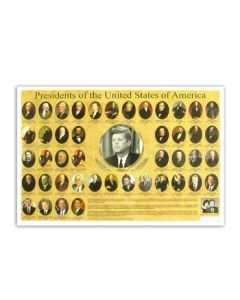 Presidents and First Ladies Placemat