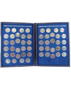 The Complete John F. Kennedy Half-Dollar Collection 1964-2018